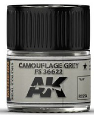 AK Interactive  AK Real Colors Real Colors: Camouflage Grey FS36622 Acrylic Lacquer Paint 10ml Bottle AKIRC254