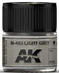 AK Interactive  AK Real Colors Real Colors: M485 Light Grey Acrylic Lacquer Paint 10ml Bottle AKIRC255