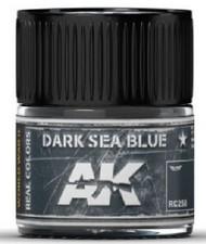 AK Interactive  AK Real Colors Real Colors: Dark Sea Blue Acrylic Lacquer Paint 10ml Bottle AKIRC258