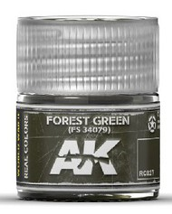 AK Interactive  RealColors Real Colors: Forest Green FS34079 Acrylic Lacquer Paint 10ml Bottle AKIRC27