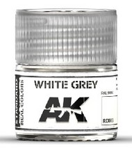 AK Interactive  RealColors Real Colors: White Grey Acrylic Lacquer Paint 10ml Bottle4 AKIRC3