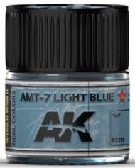 Real Colors: AMT7 Light Blue Acrylic Lacquer Paint 10ml Bottle #AKIRC316
