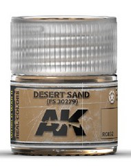 AK Interactive  RealColors Real Colors: Desert Sand FS30279 Acrylic Lacquer Paint 10ml Bottle AKIRC32