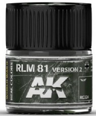 Real Colors: RLM81 Version 2 Acrylic Lacquer Paint 10ml Bottle #AKIRC324