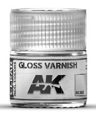 Real Colors: Gloss Varnish Acrylic Lacquer Paint 10ml Bottle #AKIRC502