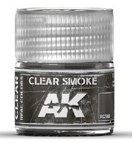 AK Interactive  RealColors Real Colors: Clear Smoke Acrylic Lacquer Paint 10ml Bottle AKIRC508