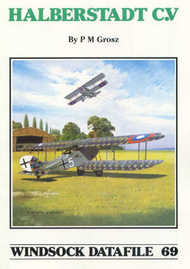 Albatros Publications   N/A Halberstadt C.V WSDA069