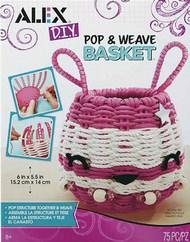 Alex Brands   N/A Alex DIY: Pop & Weave Basket ALX530