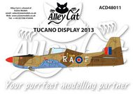 Alley Cat  1/48 Shorts Tucano T.1 2013 Display Markings WAS ú6.00. TEMPORARILY SAVE 1/3RD!!! ACD48011