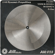 Alliance Model Works  1/48 Fw.190 VDM9-12153A/9-12067A Photo-Etch Propeller (2) (D)<!-- _Disc_ --> ALW28