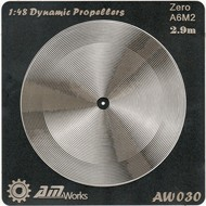 Alliance Model Works  1/48 A6M-2 Zero Photo-Etch Propeller (2) (D)<!-- _Disc_ --> ALW30
