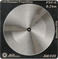 Alliance Model Works  1/48 F3F-3 2.74m Hamilton STD Photo-Etch Propeller (2) (D)<!-- _Disc_ --> ALW32