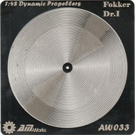 Alliance Model Works  1/48 Fokker DR 1 Photo-Etch Propeller (2) (D)<!-- _Disc_ --> ALW33