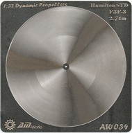 Alliance Model Works  1/32 F3F-3 2.74m Hamilton STD Photo-Etch Propeller (2) (D)<!-- _Disc_ --> ALW34