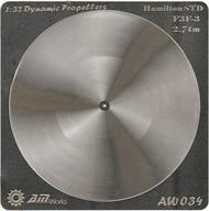 Alliance Model Works  1/32 F3F-3 2.74m Hamilton STD Photo-Etch Propeller (2) (D)<!-- _Disc_ --> ALW34
