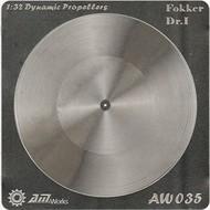 Alliance Model Works  1/32 Fokker DR 1 Photo-Etch Propeller (2) (D)<!-- _Disc_ --> ALW35