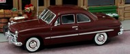 AMERICAN HERITAGE MODELS  O O 1949 Ford 2-Door Coupe (Maroon) AHT43406
