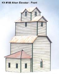 AMERICAN MODEL BUILDERS  HO Alton Country Grain Elevator AME166
