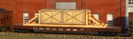 AMERICAN MODEL BUILDERS  N Wood Crate w/Blocking Flatcar Load AME525
