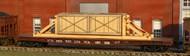 AMERICAN MODEL BUILDERS  N N Wood Crate w/Blocking Flatcar Load AME525