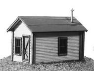 AMERICAN MODEL BUILDERS  N N Miner's Cabin Kit AME603