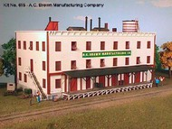 AMERICAN MODEL BUILDERS  N A.C. Brown Manufacturing Co. 3-Story Factory AME615