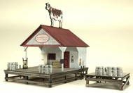 AMERICAN MODEL BUILDERS  HO Behrenwald Farms Dairy Transfer Stand w/2 Platforms AME730