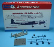 "Heinkel H-219A-074 / A-2 "" The conversion set with decals #AMLA3229"