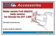 FuG 202/212 radar aerials for the Dornier Do.217J-2/N early version #AMLA48066