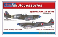 Supermarine Spitfire Mk.IXe with German fuel tanks in Czech AF service #AMLA4861