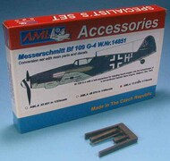 Messerschmitt Bf.109G-4 W.Nr14851 resin parts and decals only #AMLA72077