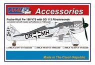 Focke-Wulf Fw.190 V75, DR+MH with SG 113 #AMLA7257