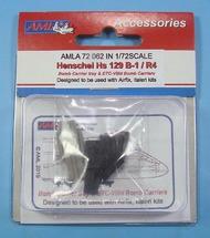 Henschel Hs-129B-1/R4 Bomb racks #AMLA7262