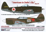 AML Czech Republic  1/32 Americans in Stalin's Sky, Part IV Masks - P- AMLC2004