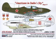AML Czech Republic  1/32 Americans in Stalin's Sky, Part V Masks - P-4 AMLC2005