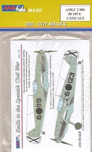 AML Czech Republic  1/32 Bf.109E. Emils in the Spanish Civil War. (2) AMLC2006