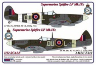 AML Czech Republic  1/32 Supermarine Spitfire Mk.IXC 2 decal versions AMLC2011