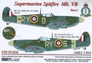 AML Czech Republic  1/32 Supermarine Spitfire Mk.VB, 313 Sq - Part 1 AMLC2014