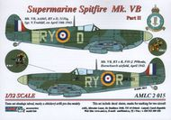 AML Czech Republic  1/32 Supermarine Spitfire Mk.VB, 313 Sq - Part 2 AMLC2015