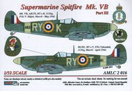 AML Czech Republic  1/32 Supermarine Spitfire Mk.VB, 313 Sq - Part 3 AMLC2016
