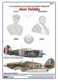 AML Czech Republic  1/32 Alois Vasatko - 1st CO Czechoslovak Wing RAF AMLC2022