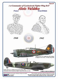 AML Czech Republic  1/32 Alois Vasatko - 1st CO Czechoslovak Wing RAF AMLC2025