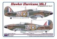 AML Czech Republic  1/32 310th Squadron RAF, Part II / Hawker Hurricane Mk.I  decals and masks AMLC2034