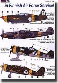 AML Czech Republic  1/48 Bf. 109 Finnish Air Force Service - Pre-Order Item AMLD48022