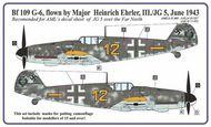 AML Czech Republic  1/32 Messerschmitt Bf.109G-6 Ehrler camo masks AMLM3301