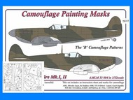 AML Czech Republic  1/32 Spitfire Mk.I, Mk.II B camo Patterns AMLM3304