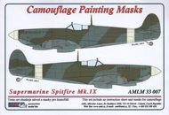 AML Czech Republic  1/32 Spitfire Mk.IXc camo masks (TAM) AMLM3307