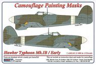 AML Czech Republic  1/32 Typhoon Mk.Ib / Early ver camo masks (REV) AMLM3308