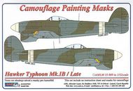 AML Czech Republic  1/32 Typhoon Mk.Ib / Late version camo masks (REV) AMLM3309