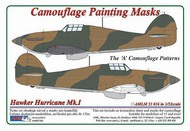 AML Czech Republic  1/32 Hawker Hurricane Mk.I 'A' Camouflage Patterns AMLM3316